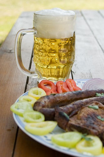 Beer and Sausage
