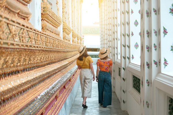 Respectful Clothes In A Temple