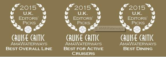 AmaWaterways Cruise Critic Awards