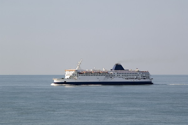 Ferry In English Channel
