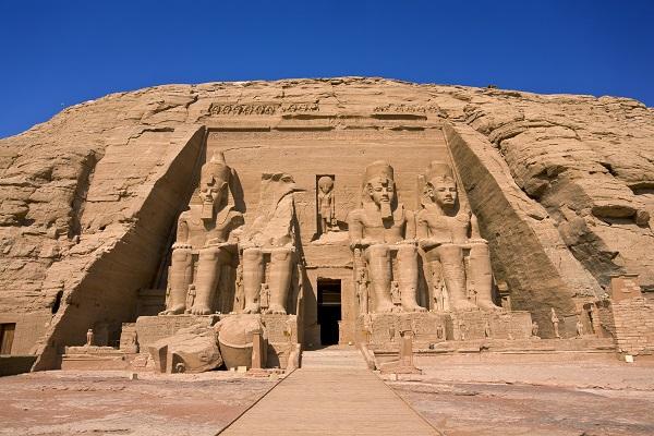 Ramses Temple At Abu Simel