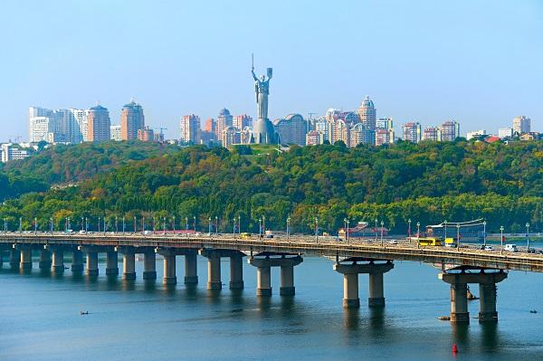 Kiev Dnieper River