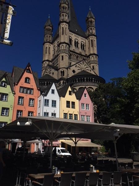 Cologne River Front