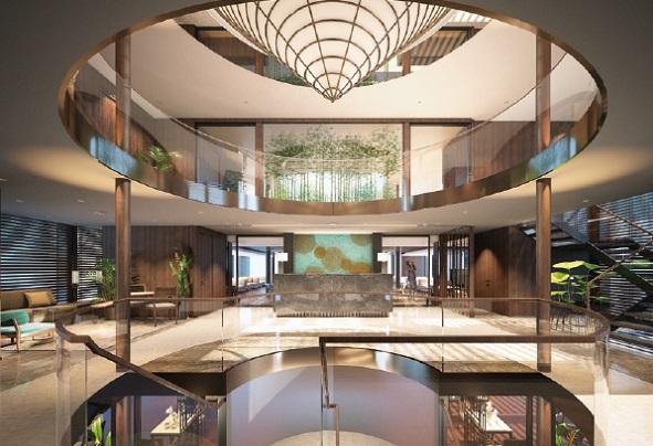 Emerald Harmony Atrium