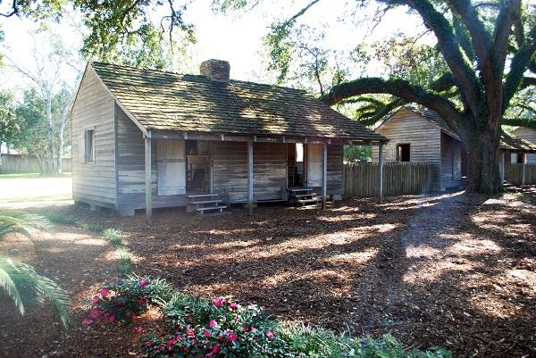 Slave Houses Oak Alley