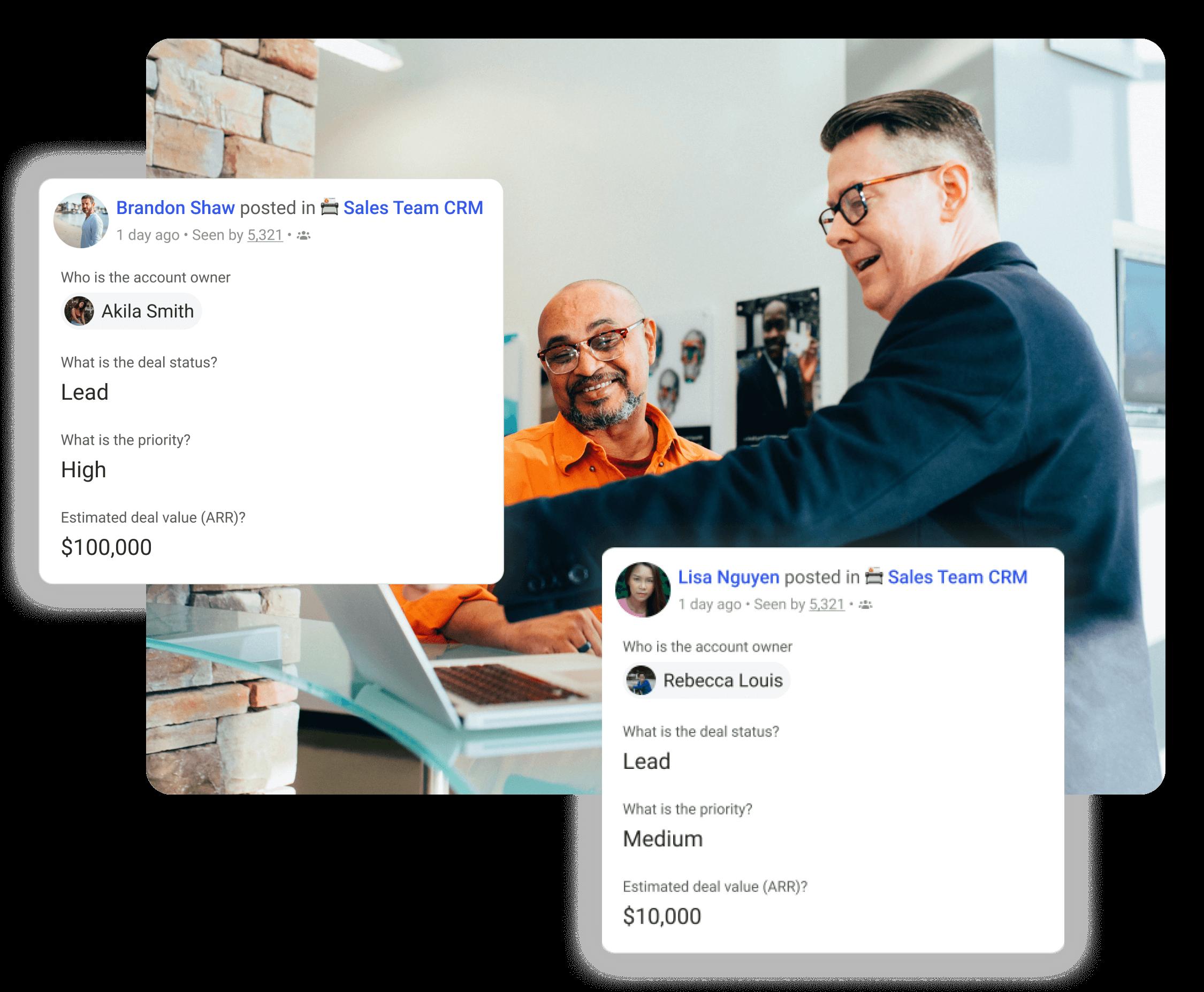 Get your sales team organized