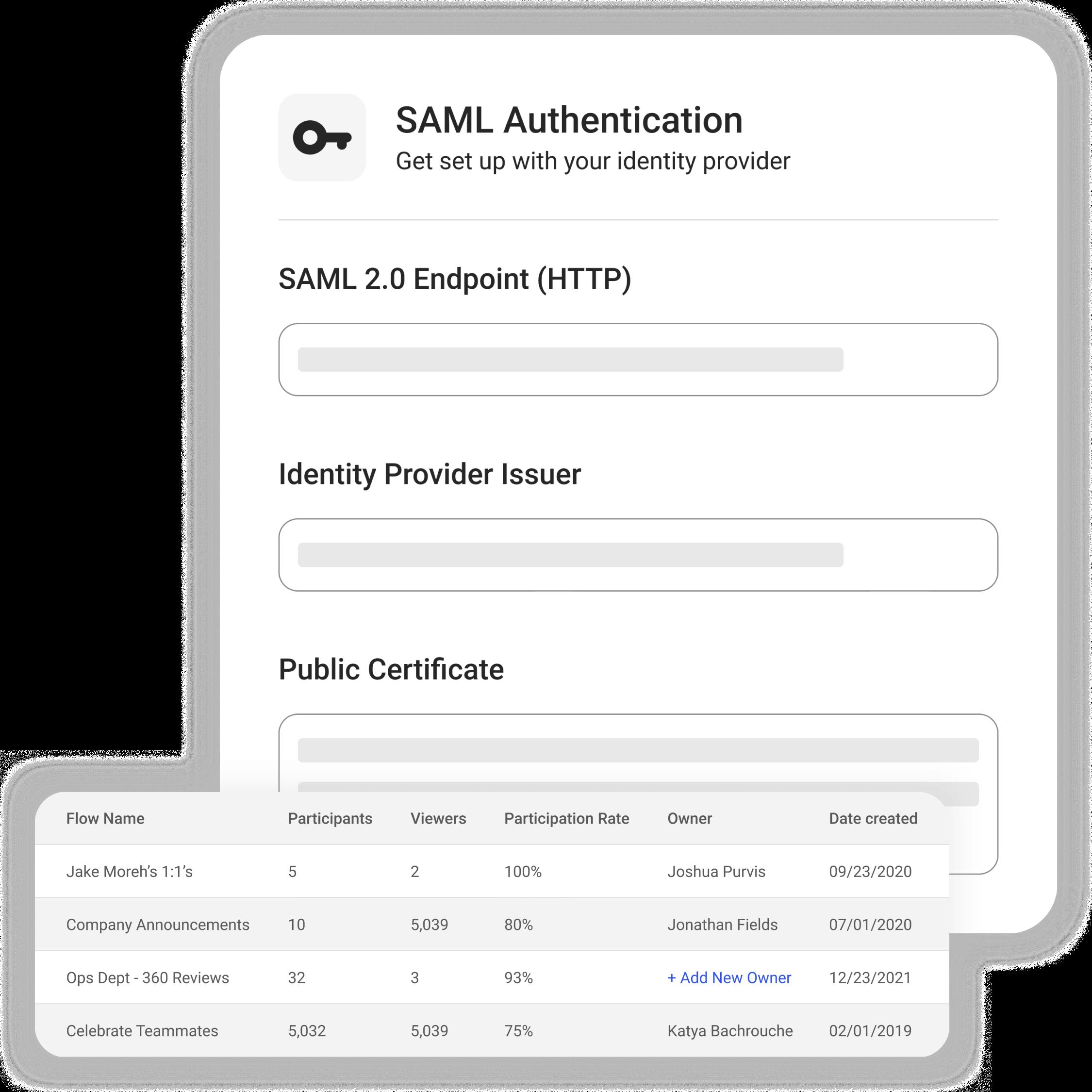 Assembly SAML