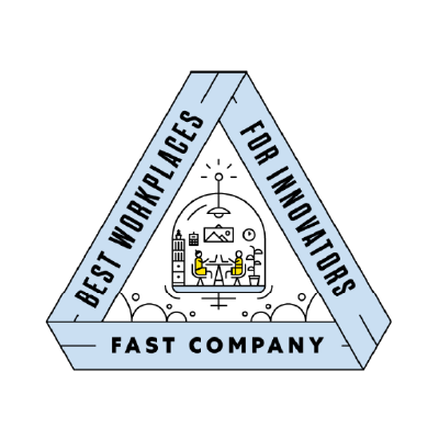 Fast Company Best Workplaces for Innovators 2020