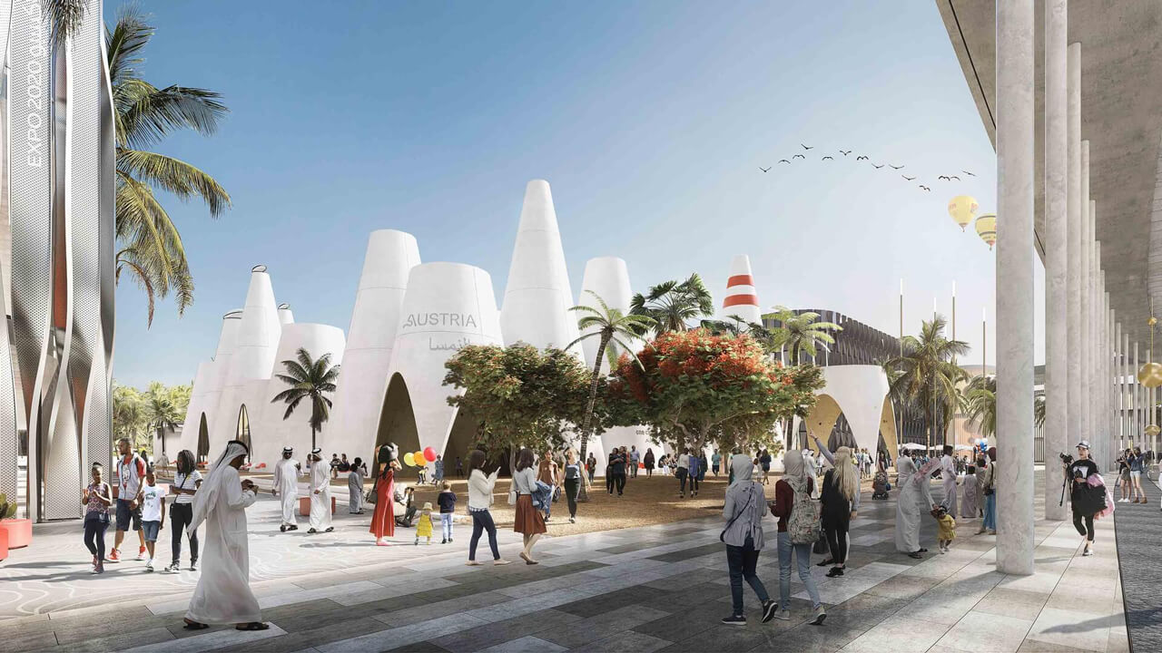 SCARLETRED represents Austria at EXPO 2020 in Dubai in iLab section of sustainable pavilion designed by querkraft