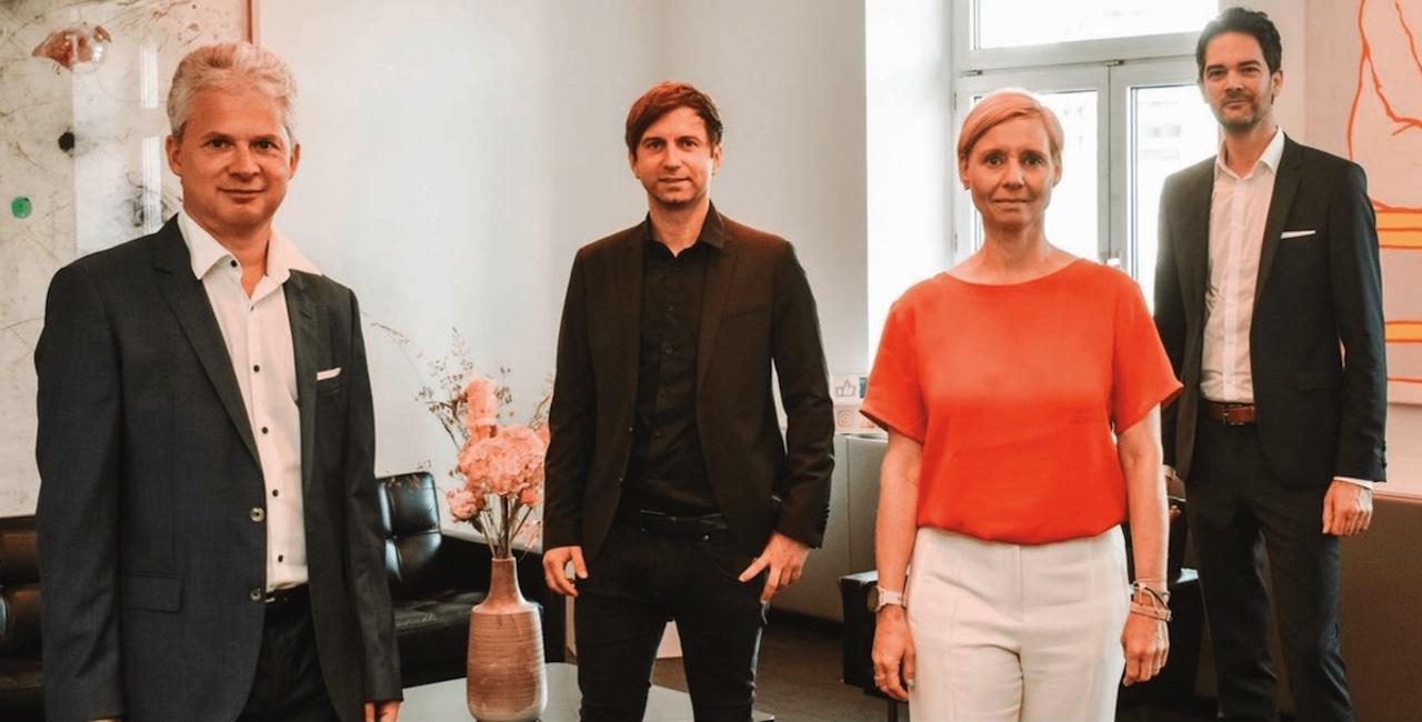 Andreas Grassauer(Marinomed) Harald Schnidar(SCR) Stefanie Werinos-Sydow(PHH Rechtsanwälte) Thomas Erkinger(EOSS Industries)
