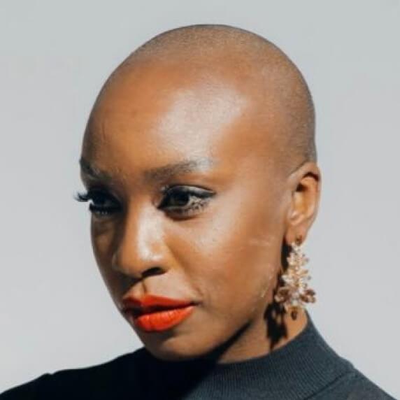 Photograph of Emem Adjah, Global Head of Monetization at Spotify.