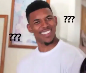 Here's the Origins of the Nick Young Confused Face Meme | Confused face,  What meme, Black guy meme