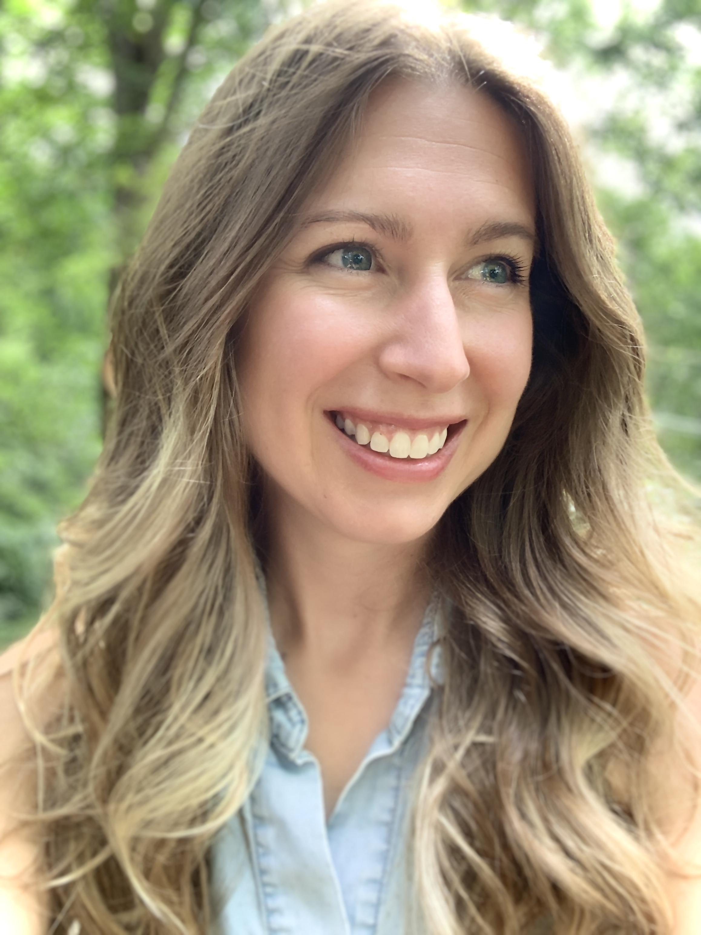 A portrait of Laura Bosco.
