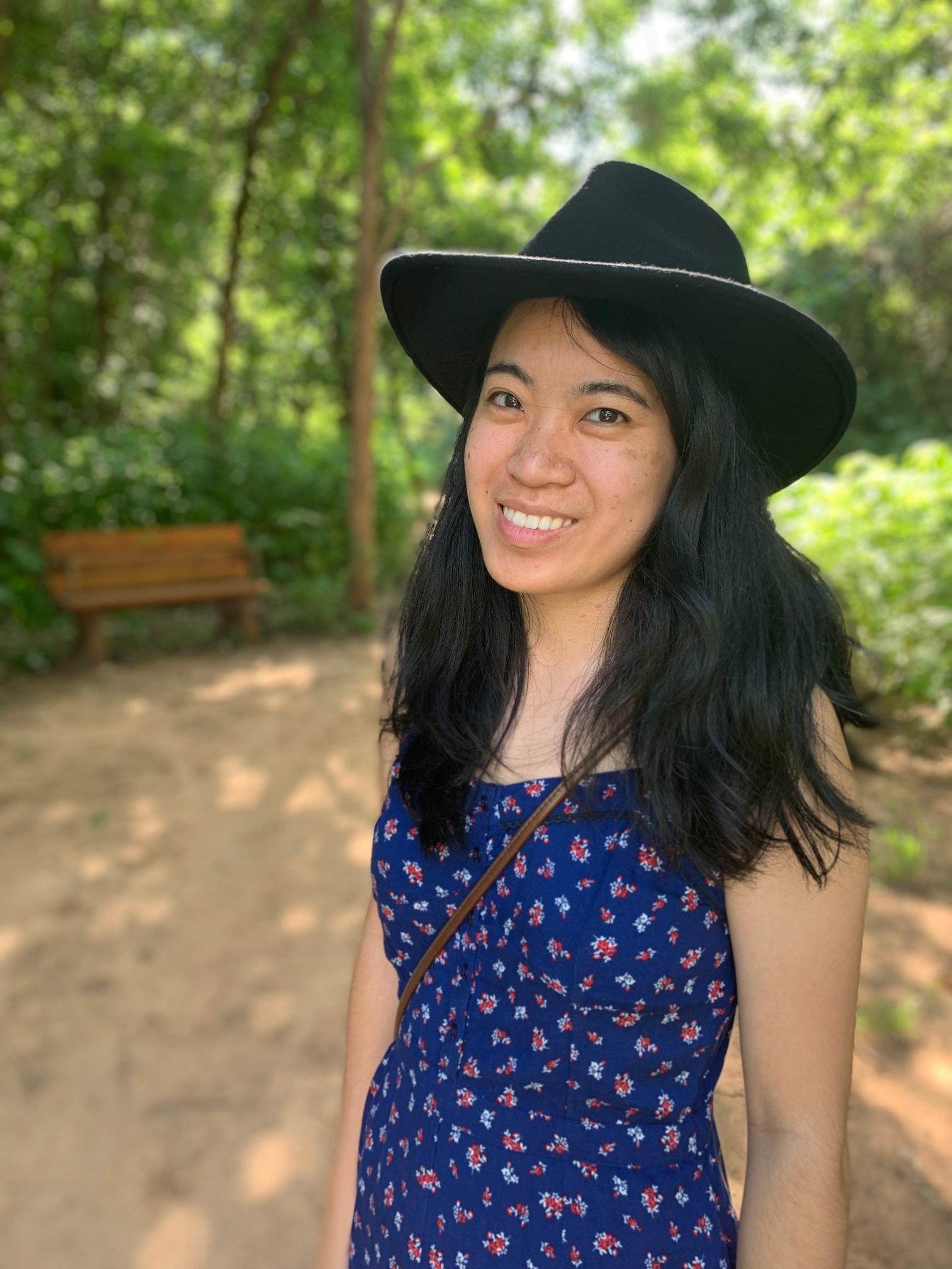 A portrait of Iris Wang.