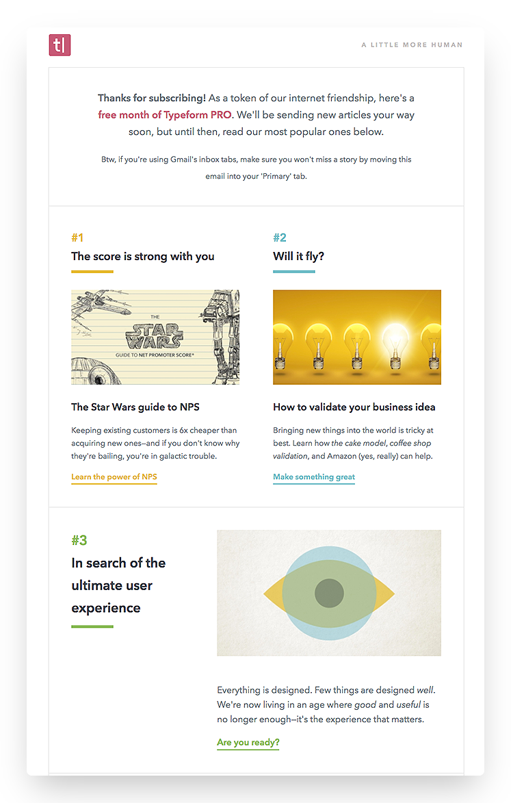 product-led growth retention email