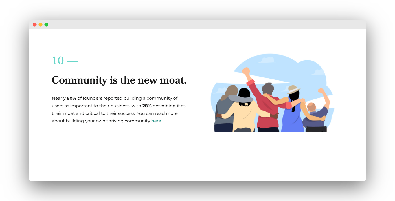 community helps app development