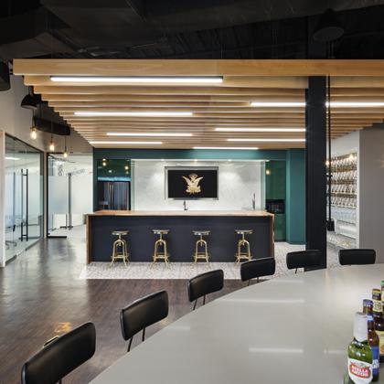 Anheuser-Busch interior space