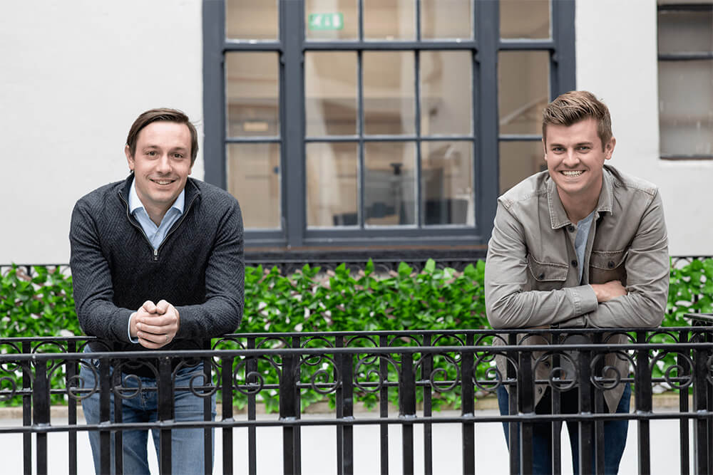 Wayflyer Founders - Aidan Corbett, CEO and Jack Pierse, CFO