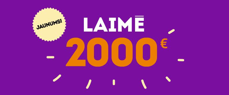 Laimē 2000 EUR
