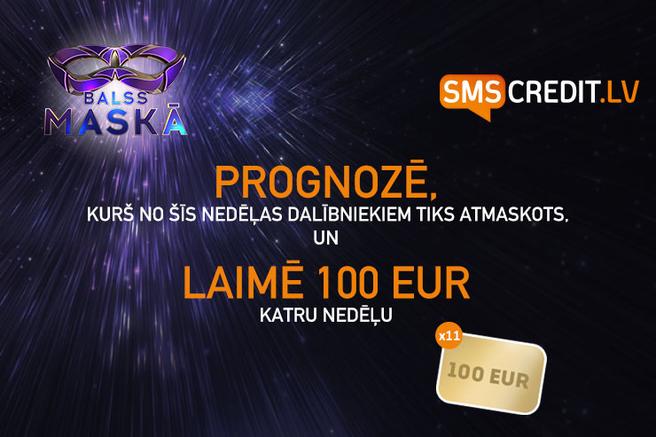Balss Maskā: Prognozē un laimē 100 EUR [NOSLĒDZIES]