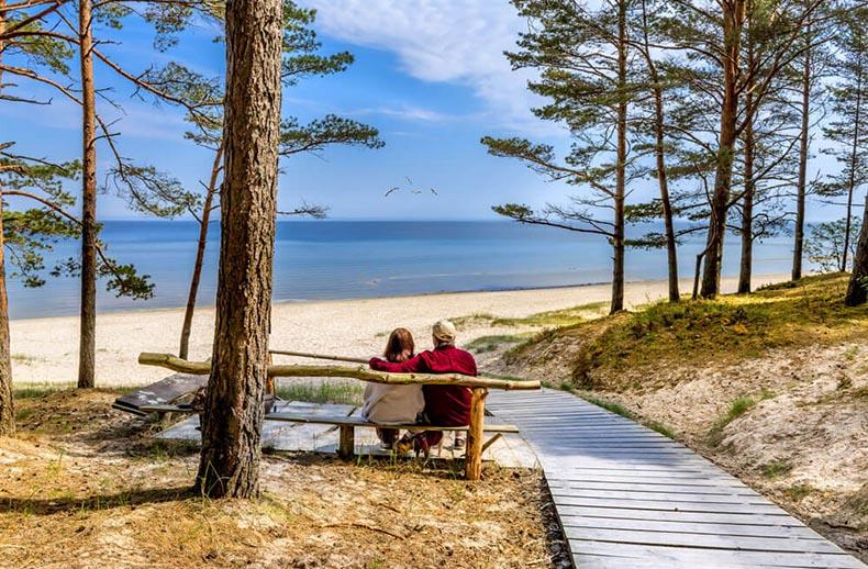 Skaistākās atpūtas vietas pie jūras Latvijā