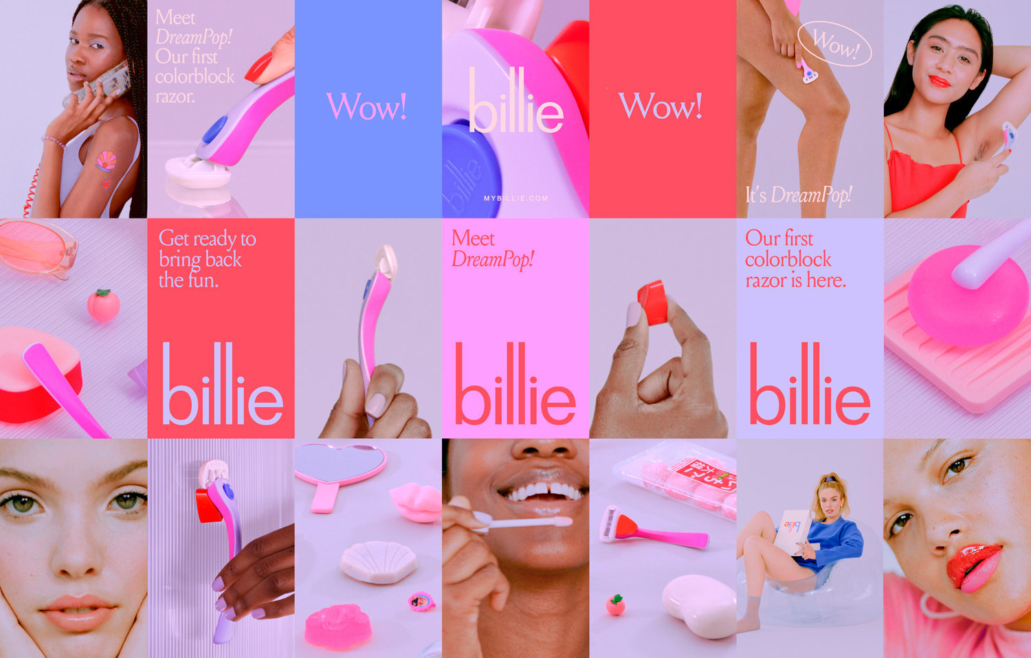 Billie, a razor subscription company for women, has created a female-oriented customer experience through product messaging and communications that feel like they come from a best girlfriend.  Source: magazine.workingnotworking.com