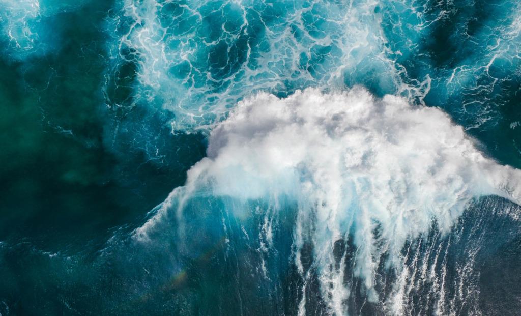 Large Surmounting Wave