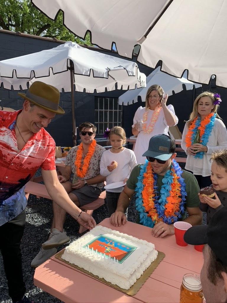 Tropicalia Birthday Party