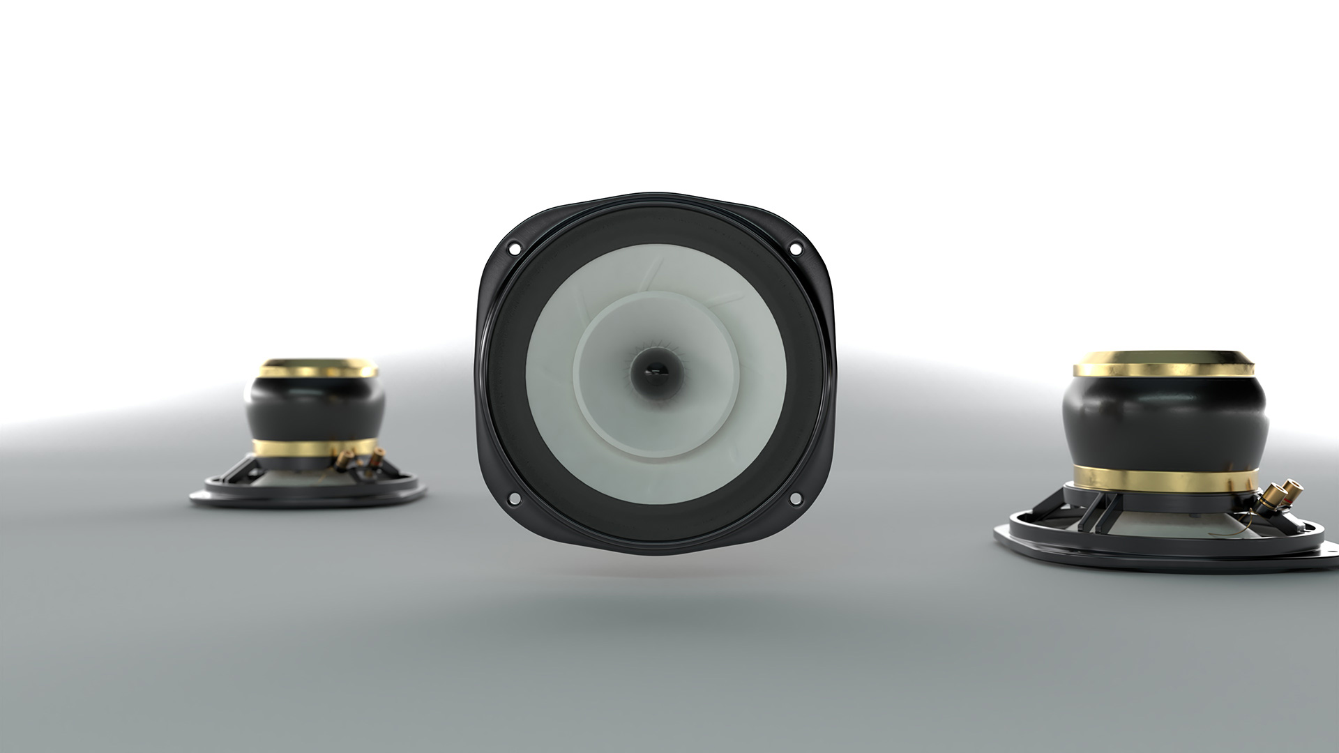 Images of the Lowther PM2A Loudspeaker Drive Units