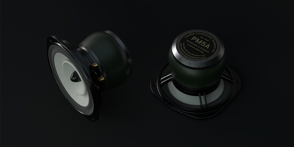 Images of the Lowther PM5A Loudspeaker Drive Units