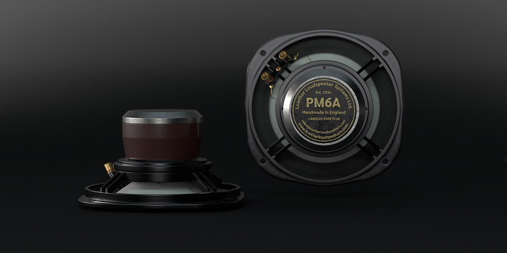 Images of the Lowther PM6A Loudspeaker Drive Units