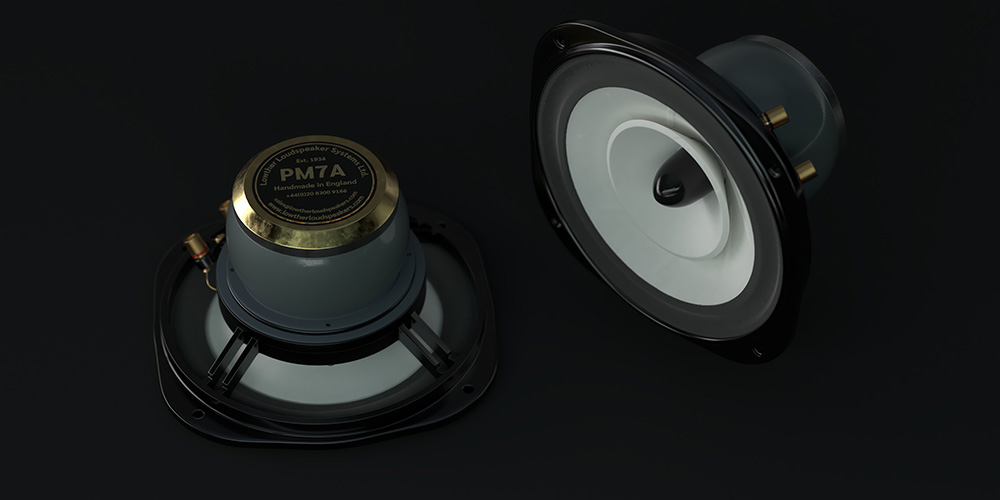 Images of the Lowther PM7A Loudspeaker Drive Units