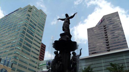 Tyler Davidson Fountain at Fountain Square