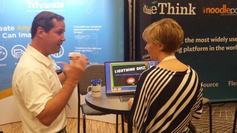 John Blackmon at Learning Solutions 2017