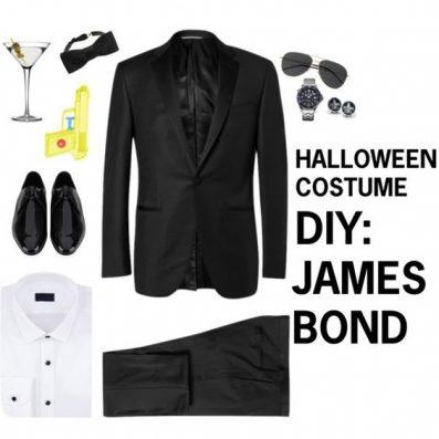 James Bond costume idea