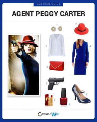 Agent Peggy Carter costume idea
