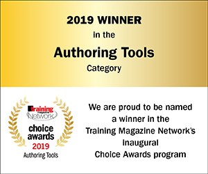 2019 Authoring Tools Winner