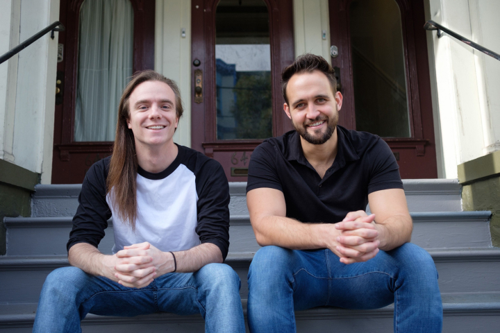 Roofr founders; Kevin Redman and Richard Nelson