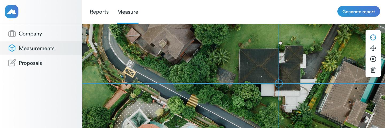 Roofr roof measurements