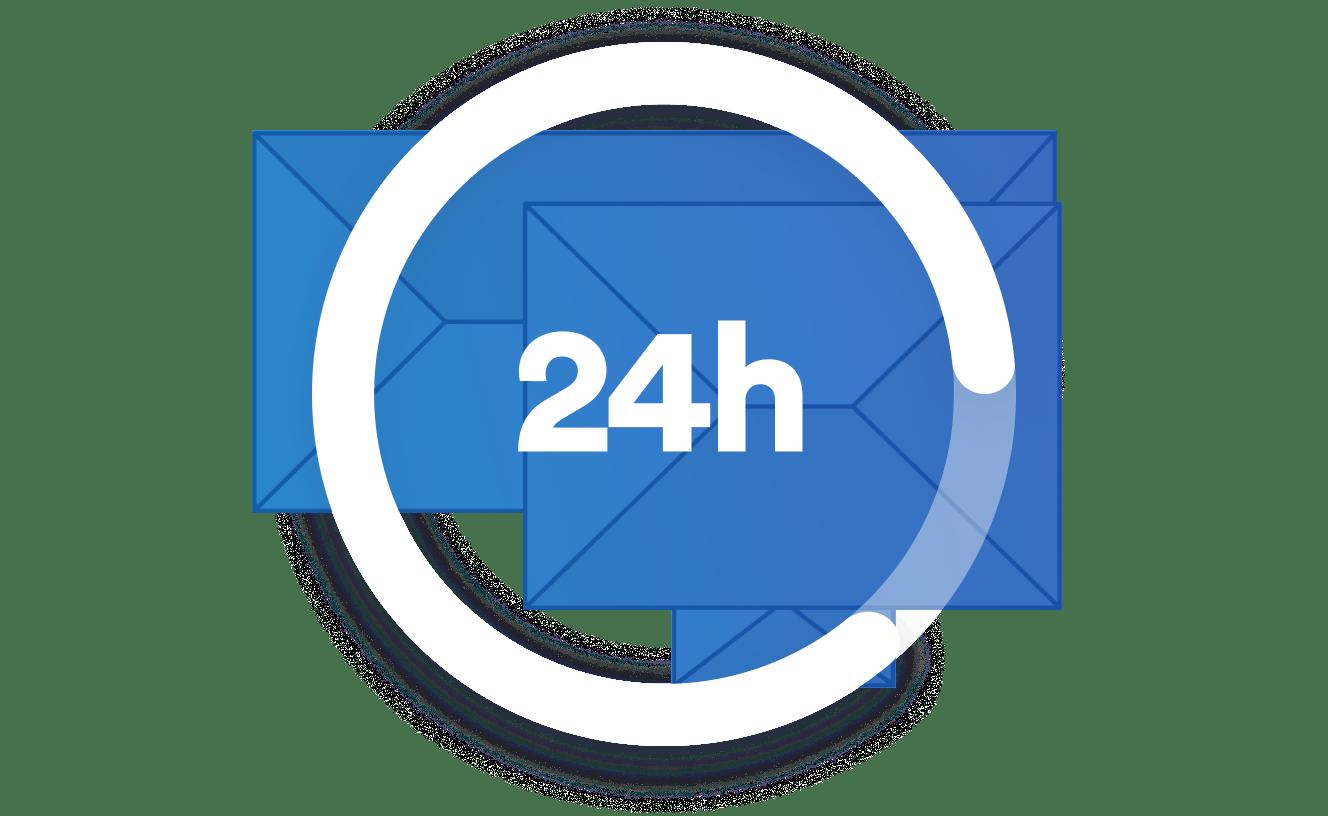 24 hour measurement report