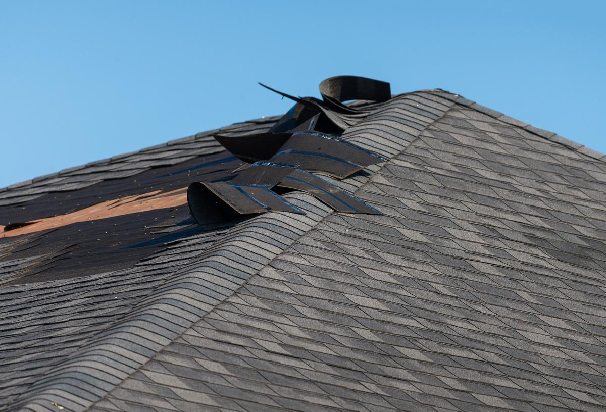 roof repair damaged shingles