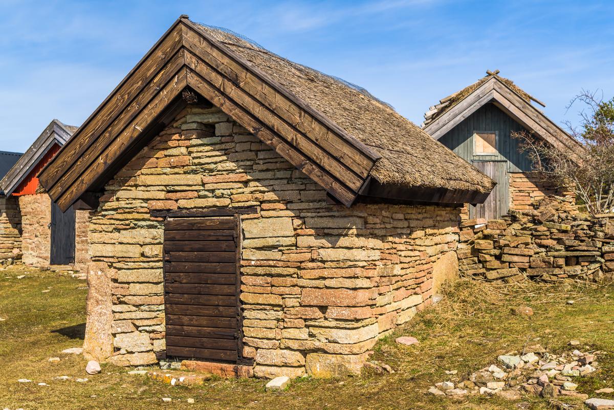 roofing technology grass hut