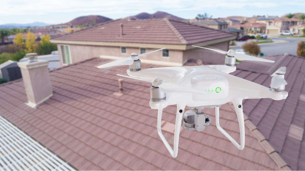 drone roofing technology