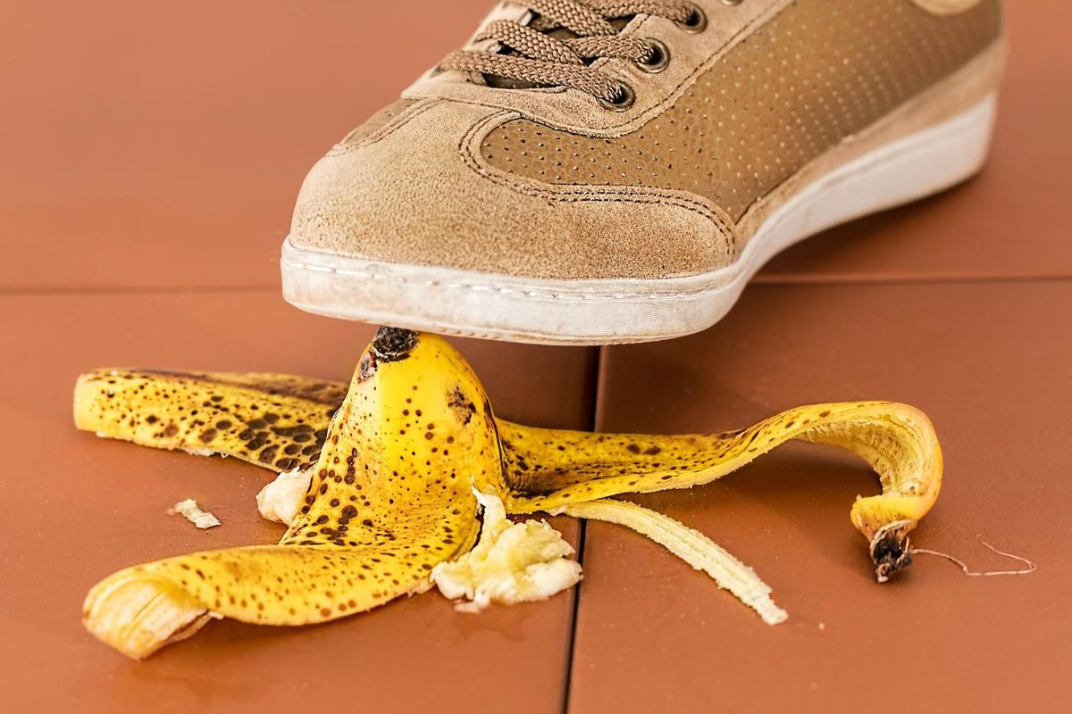 roofing red flags banana peel