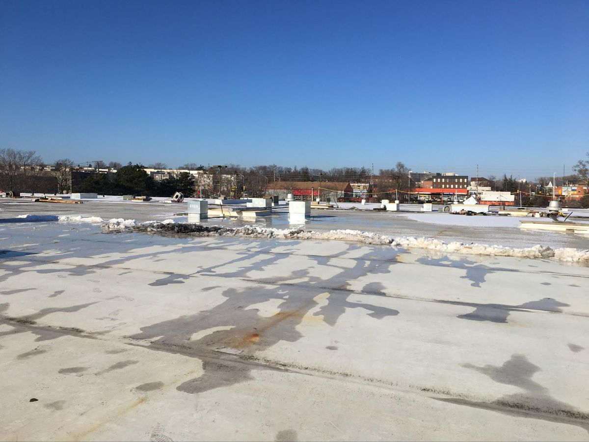 roof design why icy flat concrete roof