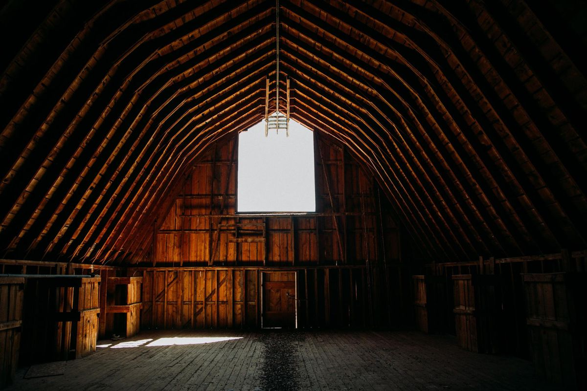 roof design why barn interior