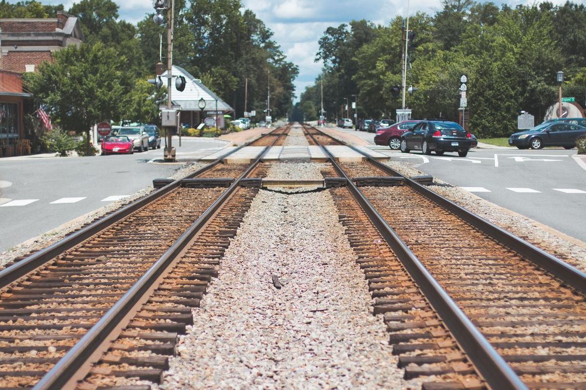 roofing contractors canadian railroad traks into town