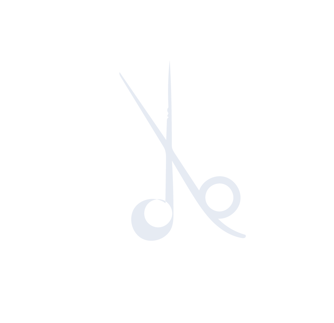 Faded background image of Scissors - gray