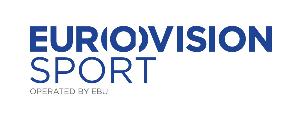 Eurovision Sport logo reflects that they are a client of Stillwater.