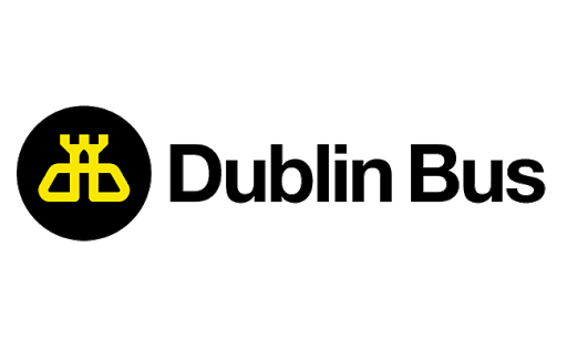 Dublin Bus logo reflects that they are a client of Stillwater.